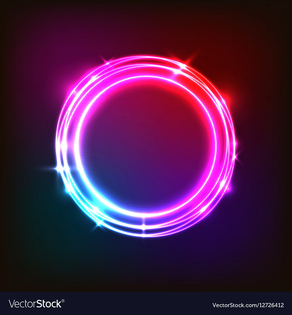 abstract neon background with