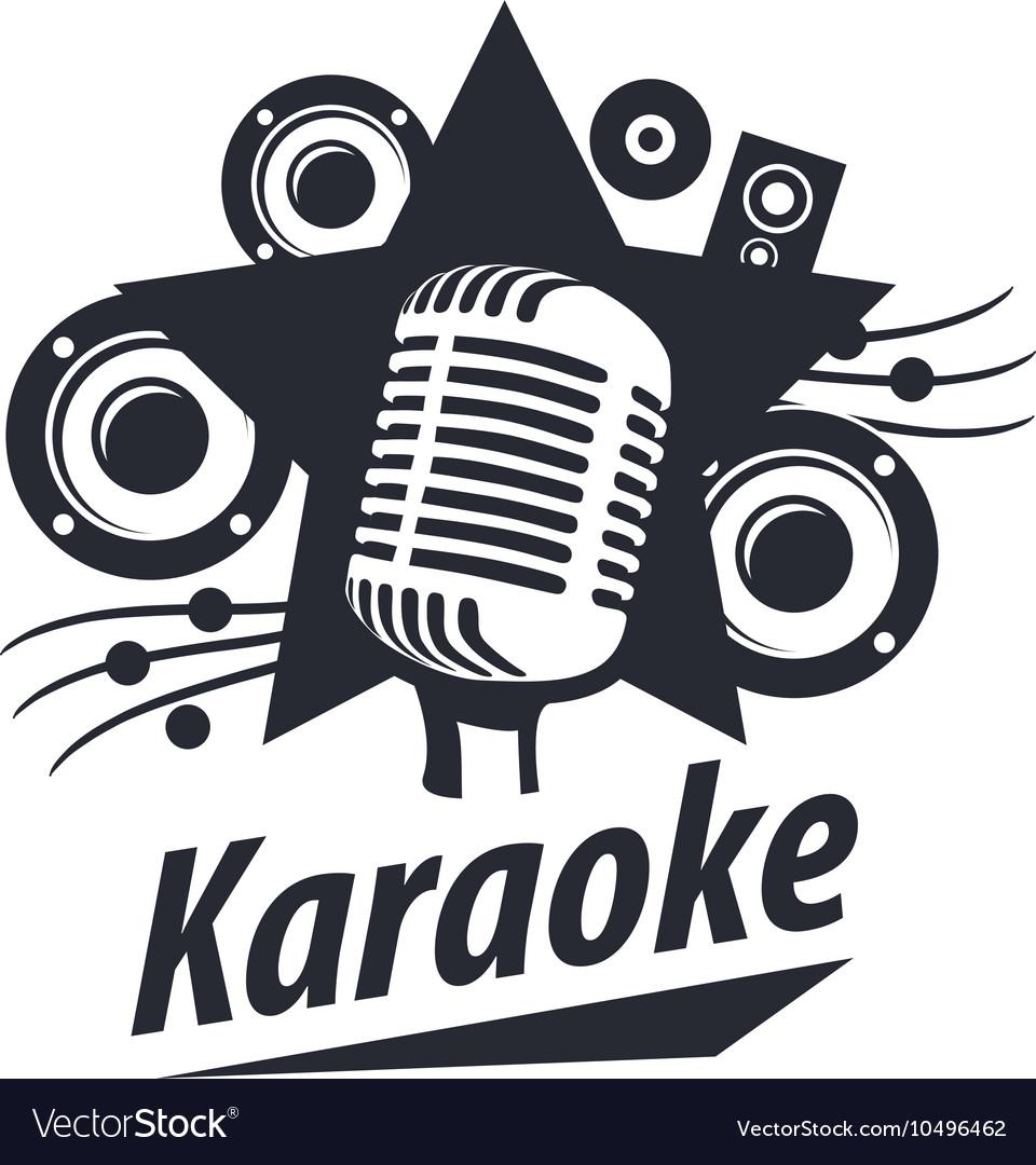 Logo karaoke Royalty Free Vector Image  VectorStock