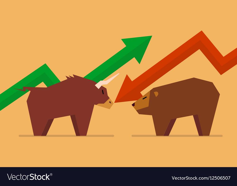 bull vs bear symbol