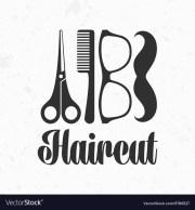 haircut logo vector - haircuts