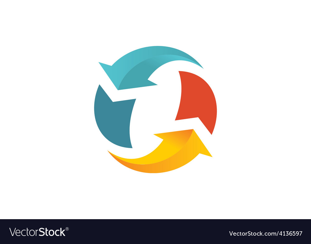 refresh arrow circle logo