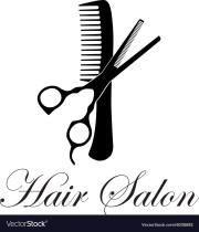 hair salon royalty free vector