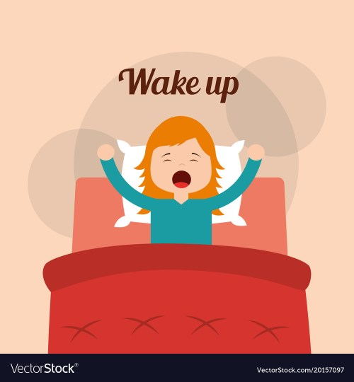 small resolution of wake up clipart