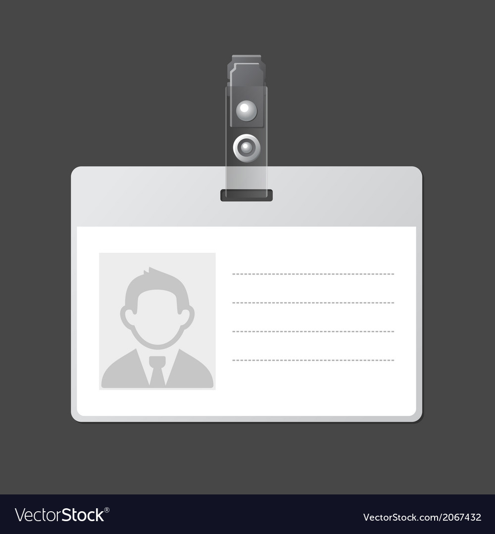 hight resolution of id template