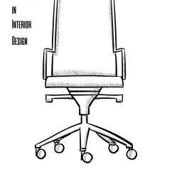 Chair On Wheels Folding Rental Brooklyn Office In A Contour White Vector Image