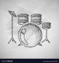 drum set icon [ 1000 x 1080 Pixel ]