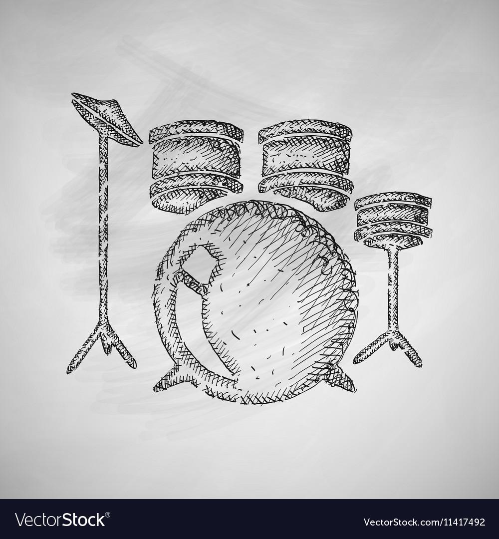 medium resolution of drum set icon