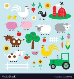 farm clipart vector image [ 1000 x 1075 Pixel ]