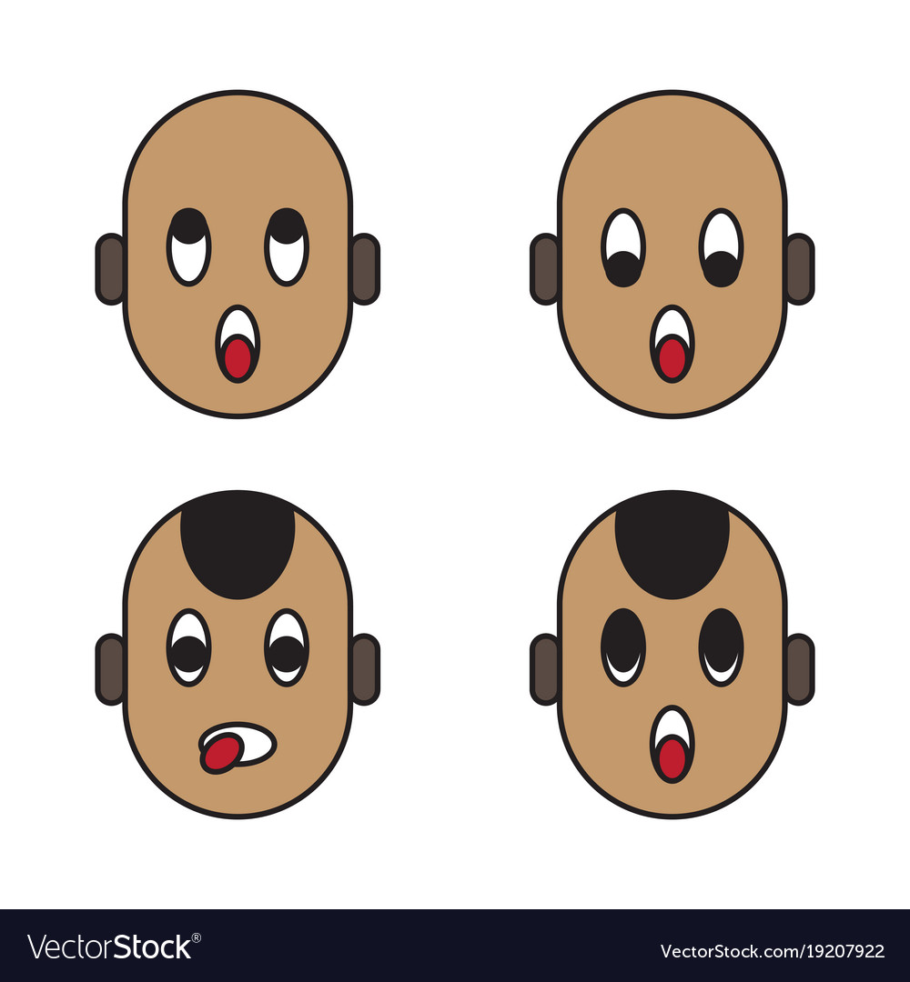 baby face emoticons