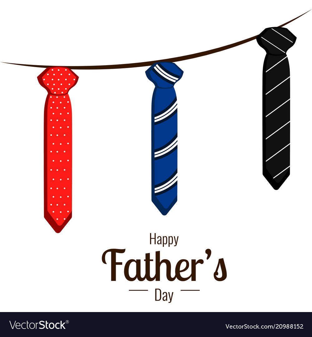 medium resolution of happy father day vector image