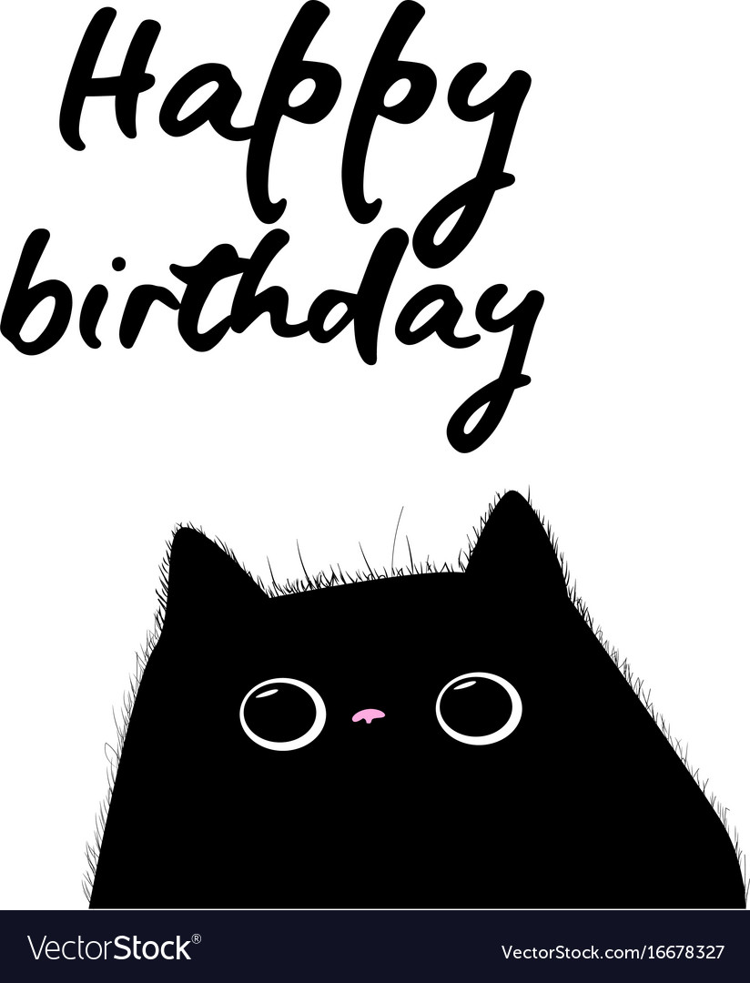 91 Birthday Cards Cats Free Cat Purrfect Birthday Card