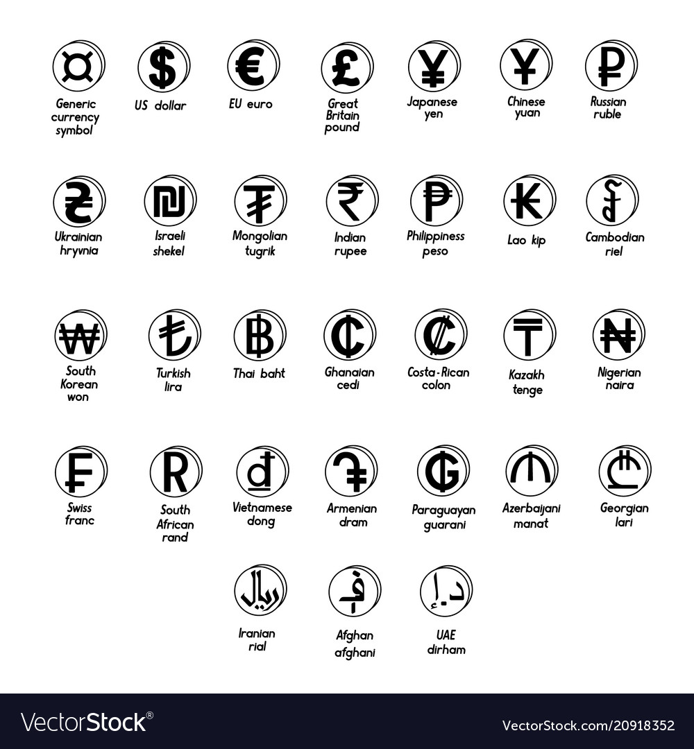 set of basic symbols