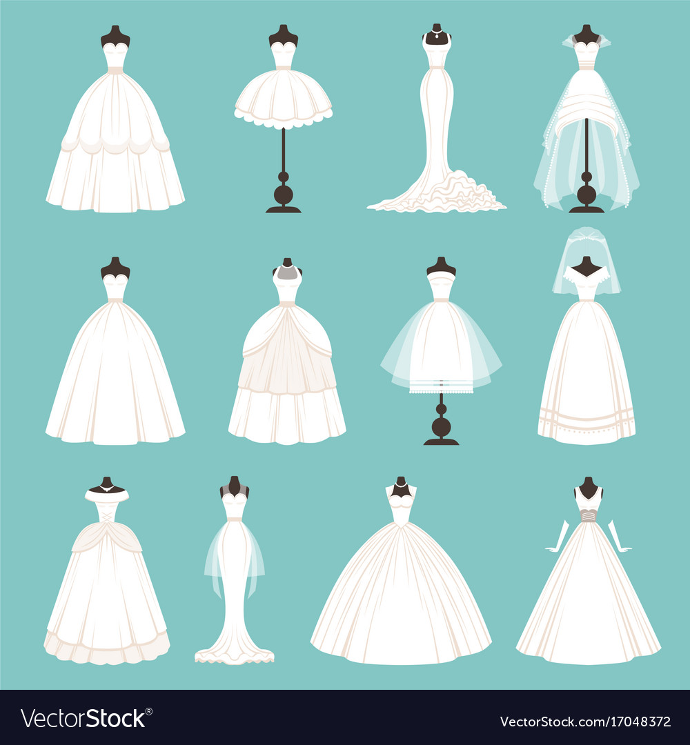 different styles of brides