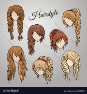 cartoon hairstyles royalty