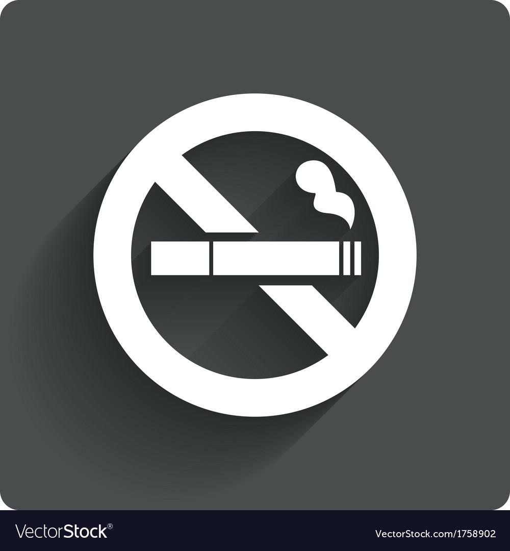 no smoking sign no