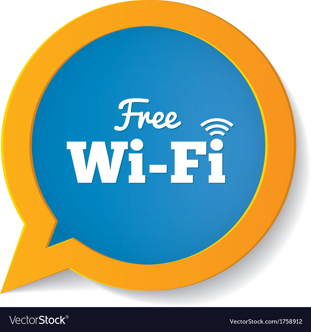 wifi speech bubble free