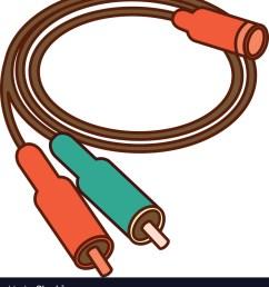 audio plug connector icon vector image [ 925 x 1080 Pixel ]