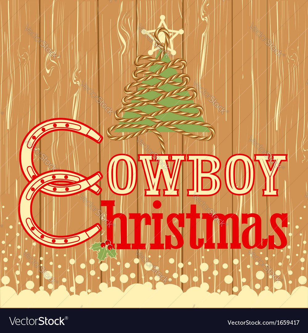 Cowboy Christmas Decor