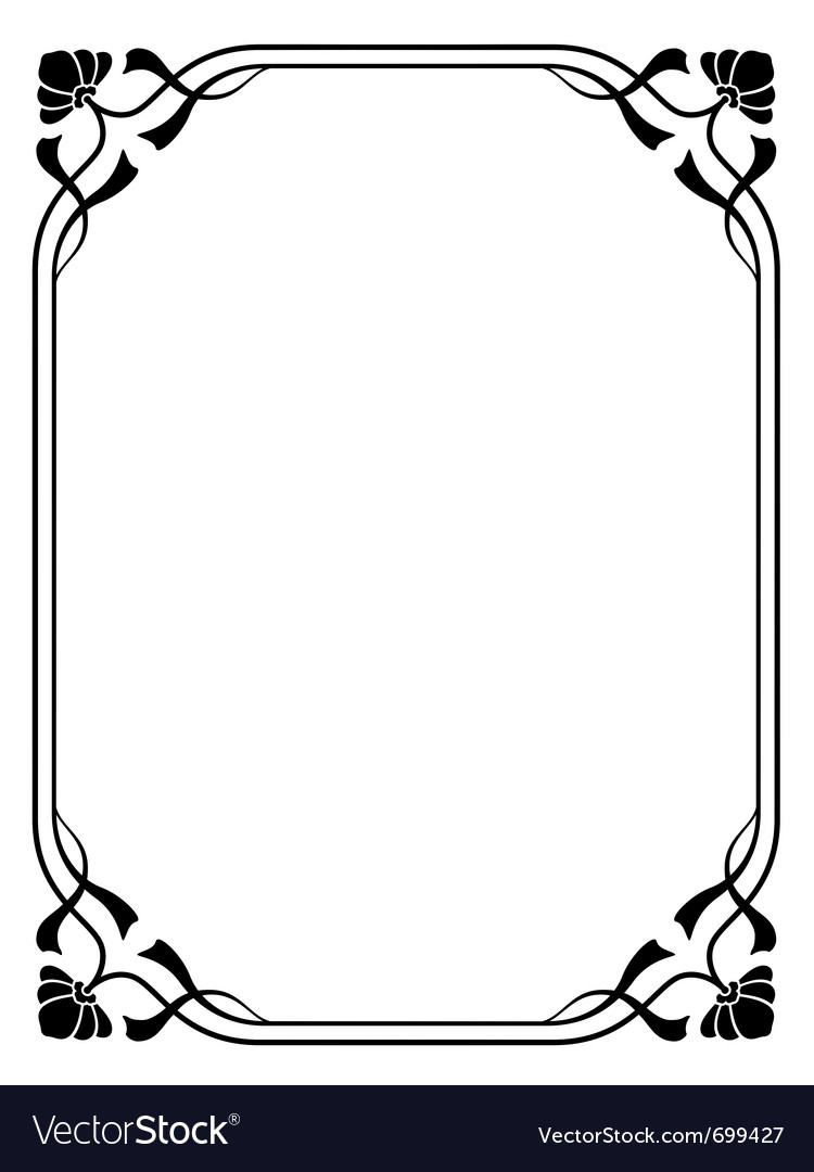 Decorative Frame Royalty Free Vector Image