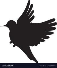 Bird Silhouette Vector - World Wide Clip Art Website
