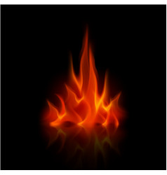 red flame vector images