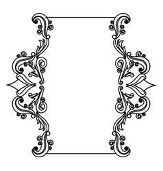 Set of floral frames Royalty Free Vector Image