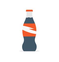 drinking a coca cola