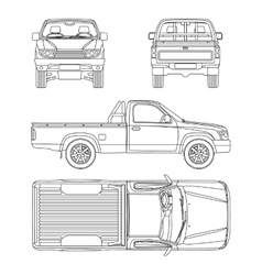 Truck & Cab Vector Images (over 630)
