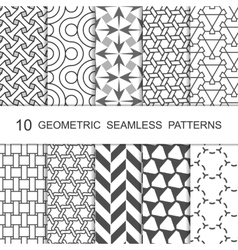 Seamless Topographic Pattern Organic Or Royalty Free Vector