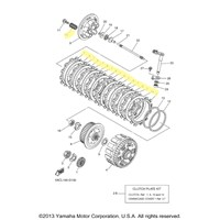 OEM Yamaha Clutch Kits : Motorcycle Goodies