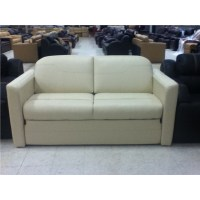 "72"" Ultra Leather Sleeper Sofa with Air Bed : RV Boat Parts"