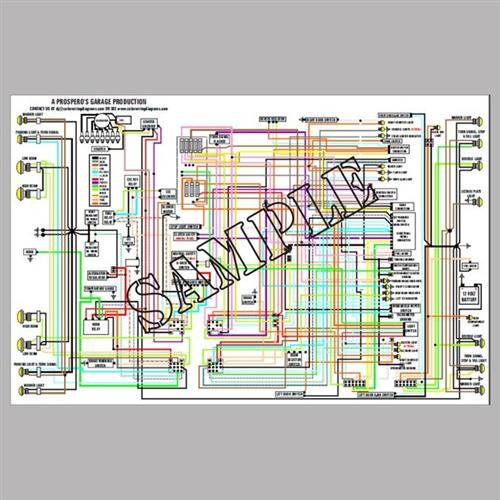 Wiring Diagram BMW R606 R756 R906 1975  1976