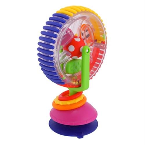 high chair suction toys teak folding cushions sassy wonder wheel toy buy at gotoddler com au free shipping
