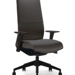 Black Leather Office Chair High Back Wood Chairs For Sale Hb