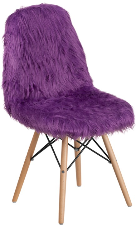 purple accent chair dining covers wayfair uk enhance your space with an emmes inspired shaggy dog dl 15 gg