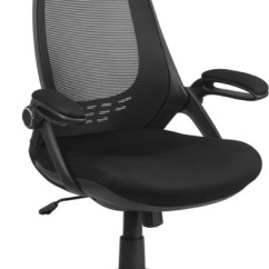 Office Chair High Seat Best Posture For Lower Back Pain Enhance Your With A Breathable Mesh Black Executive Swivel Flip Up Arms Hl 0018 Gg