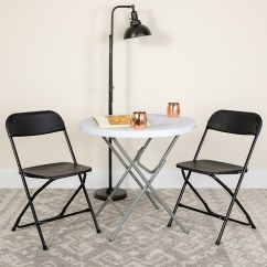 Big Folding Chairs Lazy Boy Recliner Chair Parts Enhance Your Event And Banquet Space With Tall Capacity Premium Black Plastic Le L 3 Bk Gg