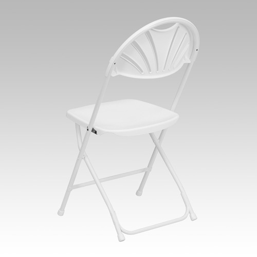 big folding chairs chair with table attached enhance your event and banquet space tall capacity white plastic fan back le l 4 gg
