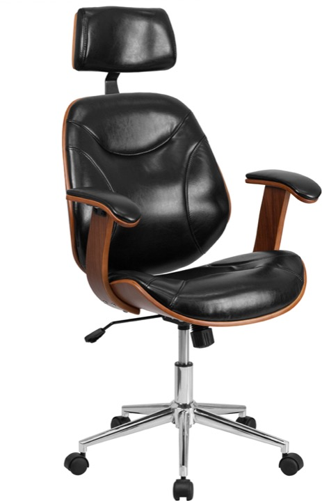 black leather desk chairs ergonomic chair chennai enhance your office space with bentwood view larger photo email