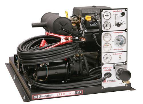 Goodall Startall 716 12 24 Volt Gasoline Engine Powered Jump Starter