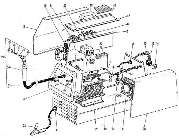 Lincoln 175 Mig Welder Diagram
