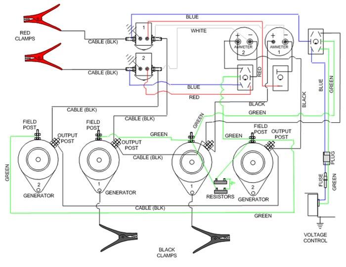 century welder parts diagram 1989 ez go wiring 11-716kvc goodall start-all 12 - 24 volt gasoline engine powered jump starter