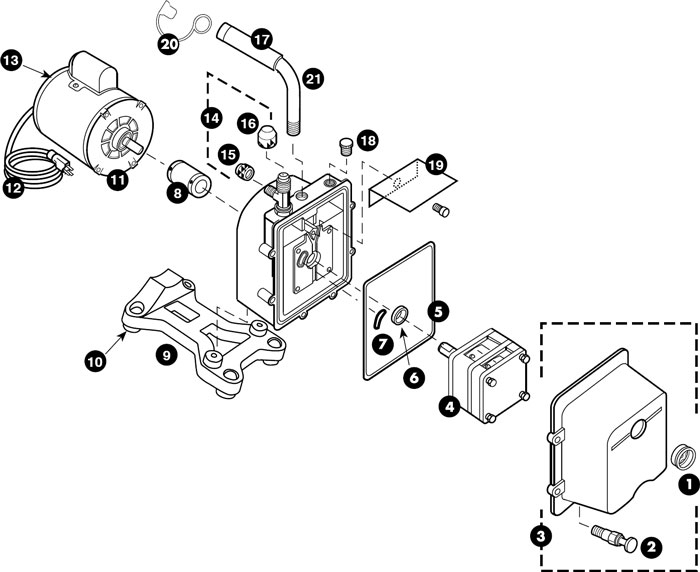 Robinair Vacuum Pump Repair