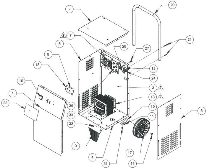 schumacher battery charger wiring diagram series parallel speaker se 2352 ca parts list