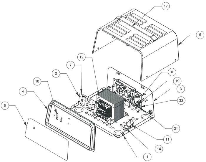 SE5212ACA Schumacher Battery Charger Parts List