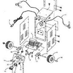 2 Amp Wiring Diagram Led Car Sears Battery Charger Parts Listing By Model 71450 50 15 225 125 Manual