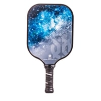 Voyager Graphite Paddle is available in blue or purple.