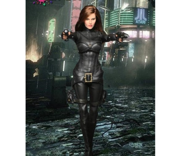 Boxed Figure Play Toy Female Agent