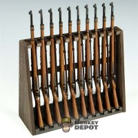 Wooden Rifle Rack