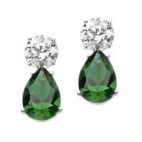 Best Selling Tear Drop Diamond Essence Earrings - White ...